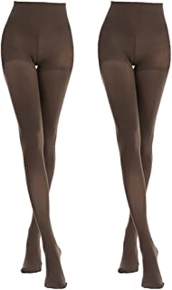 Women's 2-6 Pairs Opaque Control-Top Tights with Comfort Stretch 70 Denier