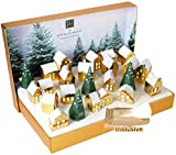 Ritual s Deluxe 3D Advent Calendar 2021 Village Beauty and Cosmetics Advent Calendar for Men and...