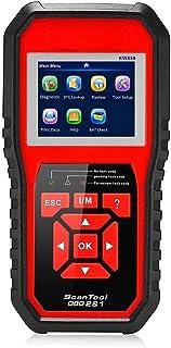 Romacci OBDII Scanner Code Reader (KW850) Profissional OBDII Anto Scanner Diagnóstico de verificação do motor Ferramenta d...