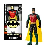 DC Comics Batman Missions - Figura de acción básica de Robin de 15 cm en caja de ventana