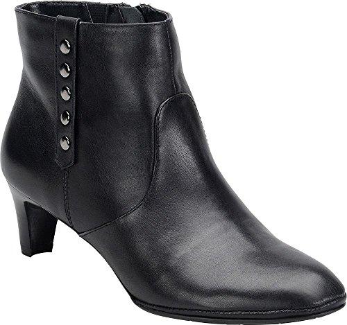 Comfortiva Tacoma Black Ankle Boot-Black-8.5-M