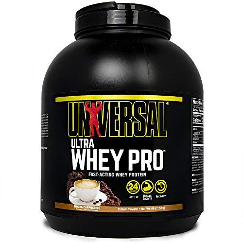 Universal Nutrition Ultra Whey Pro, Mocha Capuccino, 5-Pounds