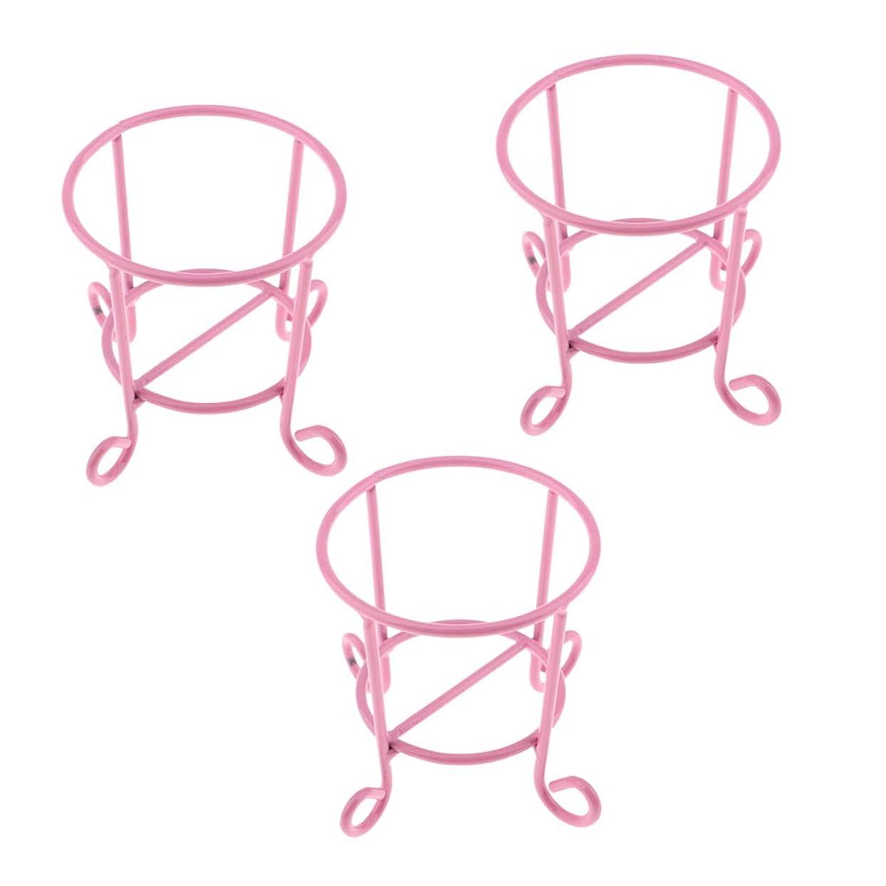 レジデンス北ロケットCUTICATE メイクパフスタンド 化粧スポンジホルダー 化粧スポンジスタンド 全3色 - ピンク