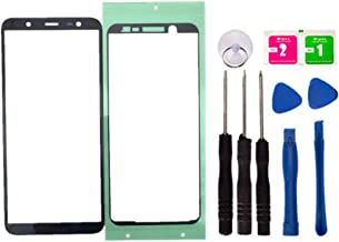 Replacement Screen Repair Front Outer Top Glass Lens Cover for Samsung Galaxy A6+ 2018 Mobile Phone Parts and Tools (No LCD and Touch Digitizer)