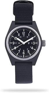 Marathon Watch WW194004 General Purpose Quartz Swiss Made Military Field Army Watch (GPQ) with Tritium and Sapphire Crystal (34mm)