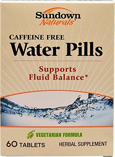 Sundown Naturals Water Pills, 60 Tablets