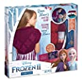 Make It Real – Disney Frozen 2 Queen Iduna's Knitted Scarf . DIY Arts and Crafts Kit Guides Kids to Crochet Queen Iduna's Shawl with Acrylic Yarn and Magical Frozen 2 Embellishments