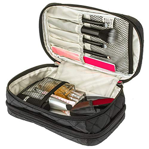 Bolsa de maquillaje de viaje Ellis James Designs -...