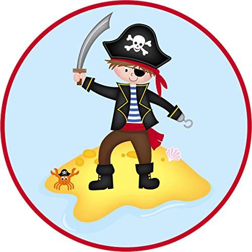 Essbarer Tortenaufleger Pirat // Tortendekoration