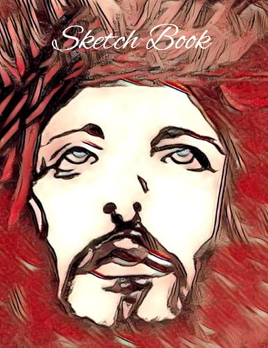 Sketch Book (Premium Jesus Christian and catholic Art Cover vol.1): Sketch book, Notebook, Journal, for Writing, bible studies, Drawing, Sketching, ... With Beautiful Artwork By Artist Rhys Horler)