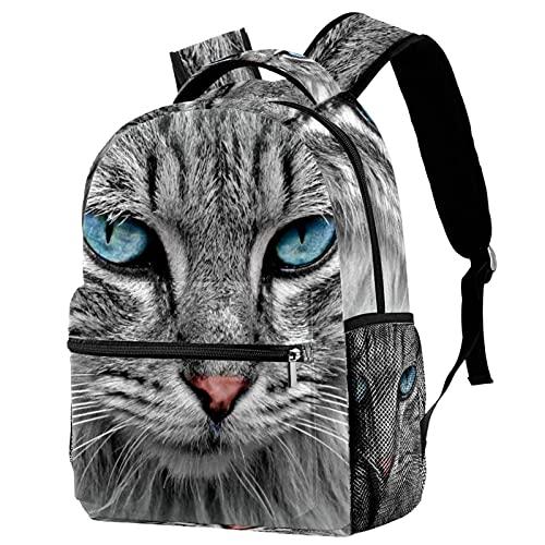 Mochila para niños, niños, niñas, viajes, escuelas, gato, mascotas