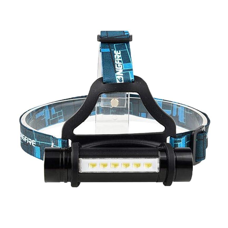 フロント品統合するZMAYASTAR LEDヘッドライト 3点灯モード 登山 夜釣り アウトドア作業 SOSフラッシュ機能 単4/18650電池対応(バッテリーなし) MU-29