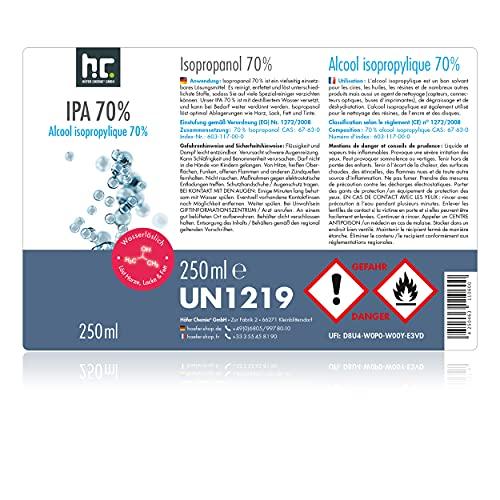 Höfer Chemie 6 x 250 ml Isopropanol 70% IPA Erfahrungen & Preisvergleich