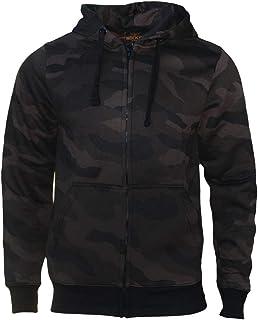 ROCK-IT Apparel® Sudadera con Capucha de camuflaje para Hombre, Chaqueta con Capucha, Sudadera, suéter de Trabajo con Capu...