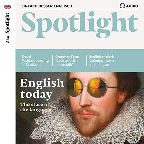 Spotlight Audio - English today. 11/2019 Titelbild