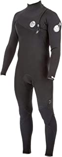 Rip Curl Dawn E-Bomb 3/2mm Zip Free Wetsuit - Men's - Black