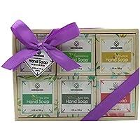 6-Count Essential Oil Handmade Soap Bar Gift Set