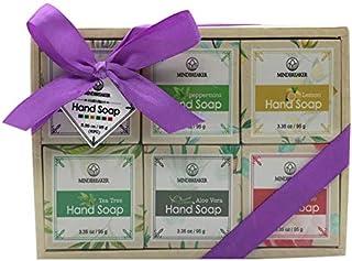 Handgemachtes Seifen stück-Geschenk-Set des ätherischen Öls, natürliche organische Bestandteile 6 PCS