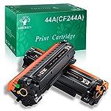 GREENSKY Cartucho de Tóner Compatible Reemplazo para HP CF244A 44A para HP Laserjet Pro MFP M28a MFP M28w M15a M15w Impresora (2 Negro)