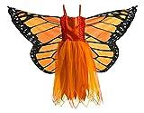 Dreamy Dress-Ups 50868 Dress, Fly-Away-Kleidchen, Orange Monarch Butterfly, Schmetterling...