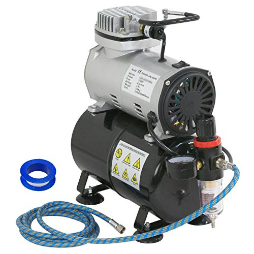 ZENY Pro 1/5 HP Airbrush Air Compressor...