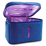 JJ CARE [Upgraded] UV Sterilizer Bag with Free Power Bank, Multi-purpose Light Sanitizer Bag & Portable Bag Sterilizer For Cell Phone, Wallet, Baby Items & More!