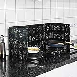 Prosperveil anti Splatter Shield Guard cucina cottura fornello padella olio paraspruzzi per copertura 84,5x 3,7x 0,8cm Cactus