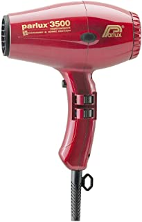 Parlux 3500 Ceramic & Ionic Dryer 2000W, Red
