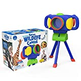 Educational Insights GeoSafari Jr. Talking Wildlife Camera, Voice & Photography-Robert Irwin, STEM Toy, Educational Toy for Kids, Ages 4+