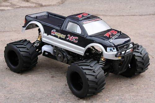 RC Auto kaufen Monstertruck Bild 4: RC MEGA MONSTER TRUCK 1:4 4X4 RTR 35ccm 4PS 80Km/h VERBRENNER 1:5 NEUHEIT*