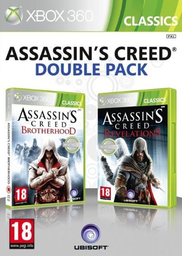 Assassin's Creed Brotherhood and Assassin's Creed Revelations Double Pack [Edizione: Regno Unito]