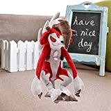 stogiit Peluche Pokemon Brillante Lycanroc Throw Pillow Plush Soft Cómodo Relleno 23-30Cm 9-11 Noche Lycanroc