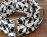 Collar Martingale Para Perro: YingYang Cats, Hecho a Mano en España por Wakakán