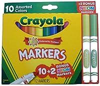 Crayola マーカー 12本パック