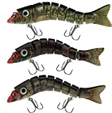 Lucky Bug Zombie Maxx 7 - Inch Lure Combo Sets - Three Assorted Colors