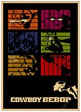 New Cowboy Bebop Hauptdekor Kraft Filmplakat Wandaufkleber