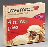 Bundle of 3 - British - Lovemore Mince Pies 4pk Gluten Free 270g ships expire Jan 2022 4-7 days USA