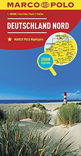Marco Polo Duitsland Noord: Wegenkaart 1:200 000