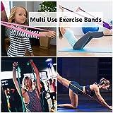 Zoom IMG-2 elastici fitness 4 pezzi bande