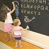 MFEIR® Pegatinas Pared Bebe Pizarra Pegatinas de pared niños 60 x 200cm