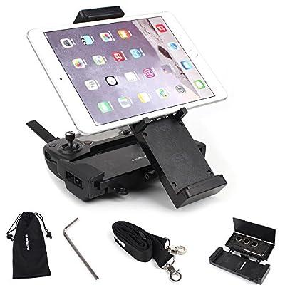 Flycoo Tablet Mount Holder Bracket for DJI Mavic Pro / Spark Remote Controller - for 4.7-12.9 inch Devices