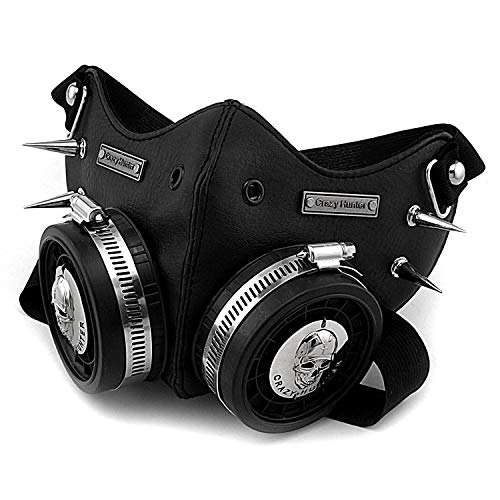 Main Color: black Style: steampunk size:one size (adjustbacle) no gas defense function