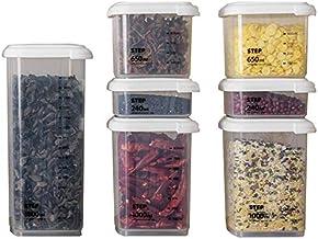 Nfudishpu Storage Box Kitchen Sealed Crisper Plastic Refrigerator Chilled Frozen Food Nfudishpu Storage Box Grain Storage ...