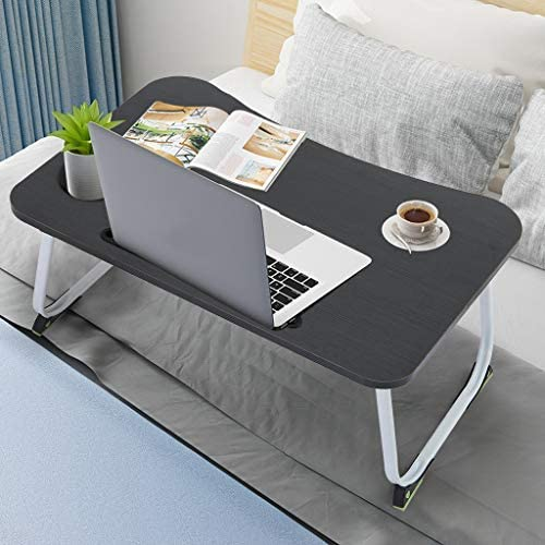 OKBOP Max 40% OFF Foldable Laptop Attention brand Table for Small Portabl Multifunction Bed