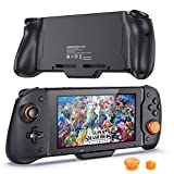 Switch Wireless Handheld Grip Controller for Nintendo Switch, with Buit-in Upgraded PD Chip, OIVO Comfort Grip Built-in 6 Gyro Axis, Dual Vibration for Nintendo Switch