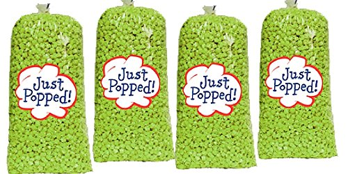 Purchase St. Patrick's Day Green Colored Party Popcorn 4-Pack (72 Cups per Case)