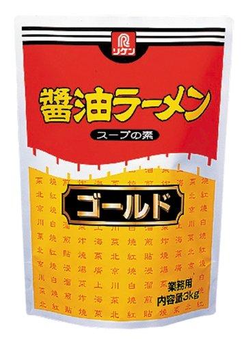 理研ビタミン リケン 醤油ラーメンスープの素 ゴールド 3Kg