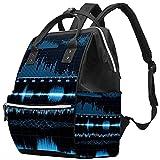 WJJSXKA Mochilas Bolsa de pañales Laptop Notebook Mochila Viaje Senderismo Daypack para Mujeres Hombres - Sonic set