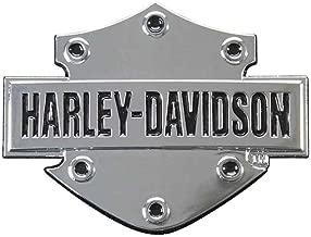 HARLEY-DAVIDSON Bar & Shield 3D Chrome Decal, XS Size 2.5 x 1.75 inches DC200061