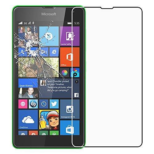 ebestStar - kompatibel mit Microsoft Lumia 535 Panzerglas Nokia Lumia 535 Schutzfolie Glas, Schutzglas Bildschirmschutz, Bildschirmschutzfolie 9H gehärtes Glas [Phone: 140.2 x 72.4 x 8.8mm, 5.0'']